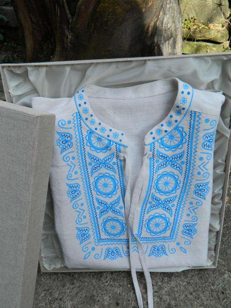 c2e0652b484c Ľanová košeľa. Tradičná ...